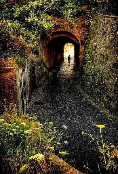 Walkway Tunnel, Campania, Italy