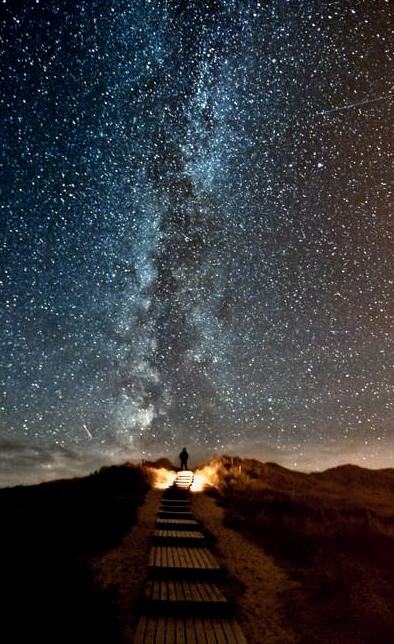 The Milky Way, Sylt, Germany