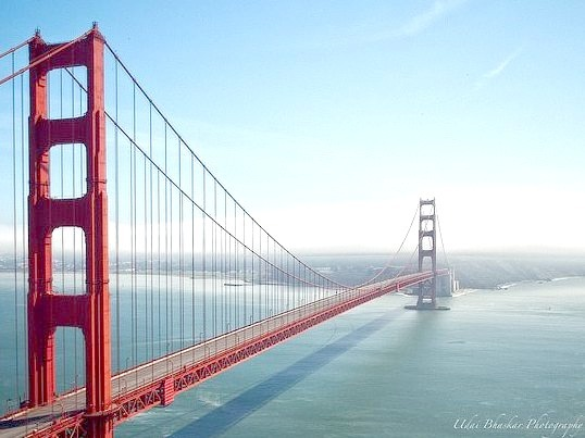 Golden Gate Bridge, San Francisco - the most photographed bridge in the world.Travel infos: https://www.sanfrancisco.com/