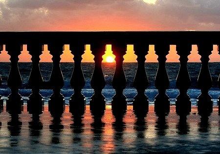 Geometric Sunset, Livorno, Italy