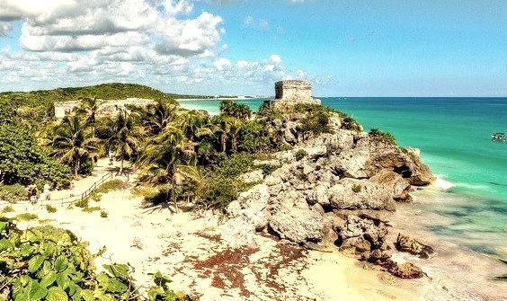 by mikerhicks on Flickr.Tulum Mayan Ruins - Yucatan Peninsula, Mexico.