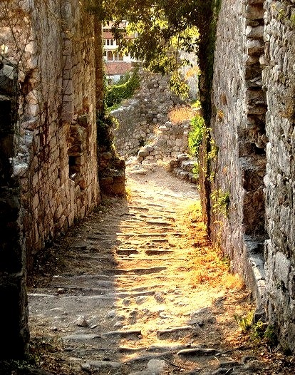 Ancient Passageway, Stari Bar, Montenegro