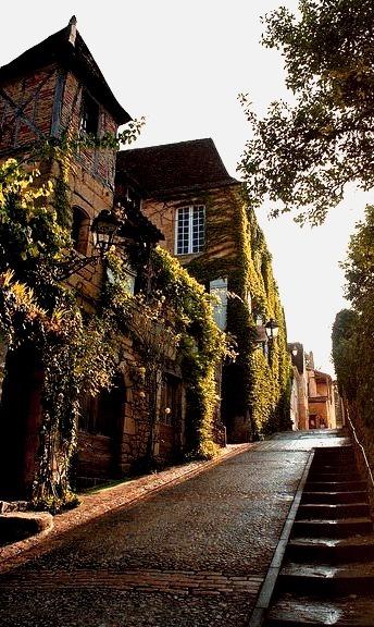 Steep Street, Sarlat, France