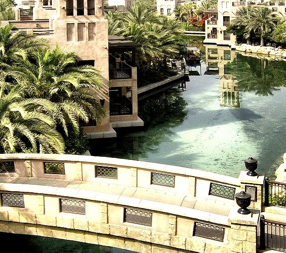 by Kaki Bakar on Flickr.Madinat Jumeirah view in Dubai, United Arab Emirates.