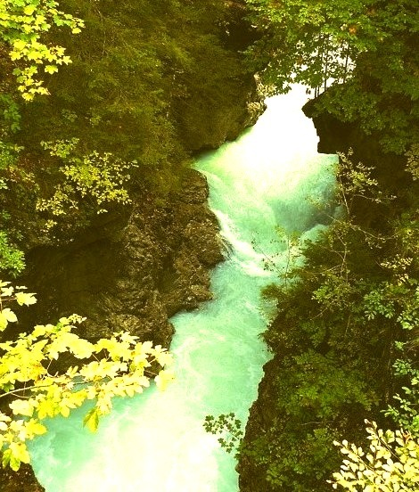 Rissbach Gorge, Germany
