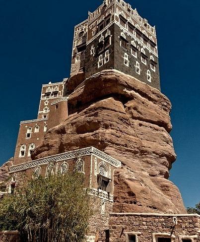Palace Dar al Hajar, near Sana'a, Yemen