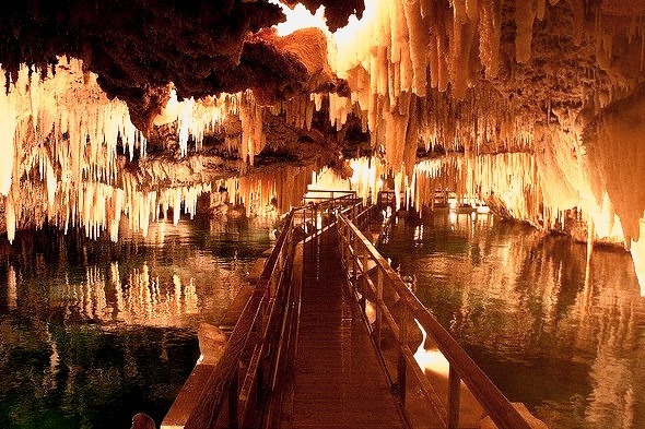 Discovered in 1905 by two 12 year-old boys searching for a lost cricket ball, Crystal Cave, Bermuda