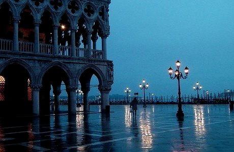 Dusk, Venice, Italy