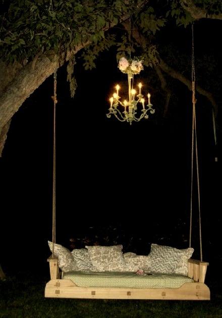 Chandelier Tree Swing, France