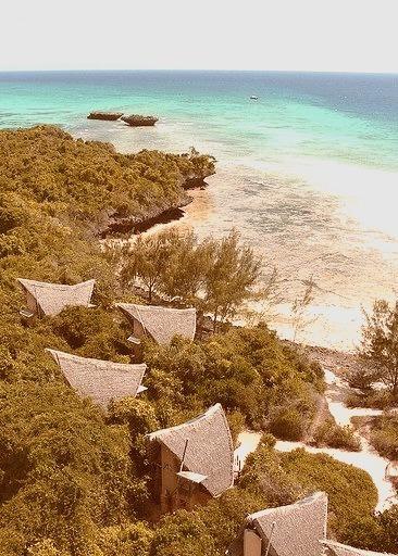 The reclusive beach huts on Chumbe Island, Tanzania