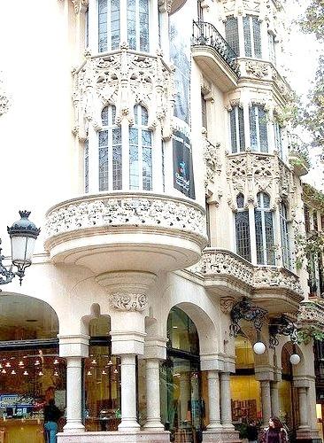 Art-Nouveau architecture in Palma de Mallorca, Spain
