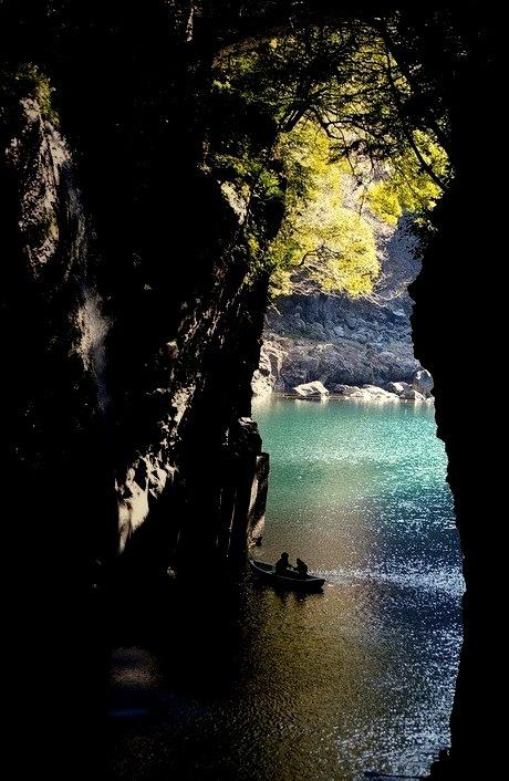 Waterfall Canyon,Takachiho, Japan