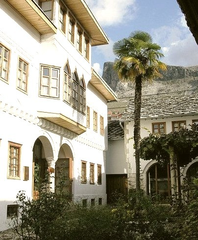 Muslibegovic House, one of the best preserved old houses in Mostar, Bosnia and Herzegovina