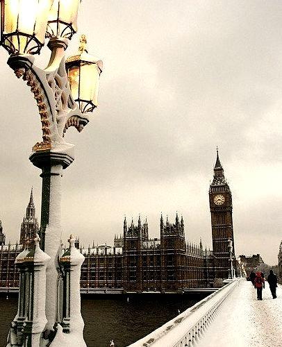 Winter Storm, London, England