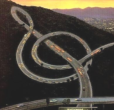 Musical Freeway, Los Angeles, California