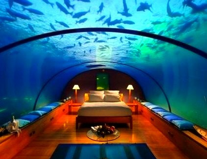 Underwater Hotel, The Maldives