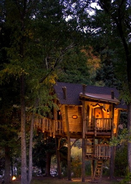 Crystal River Treehouse, Carbondale, Colorado