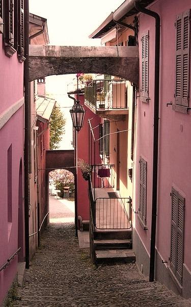 The charming town of Varenna, Lago di Como, Italy
