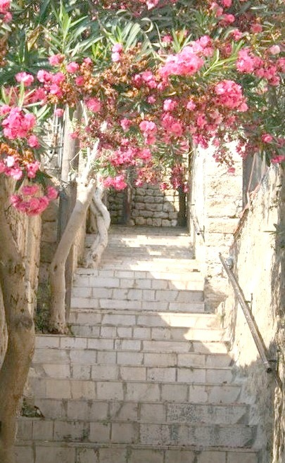 On the ancient streets of Byblos, northern Lebanon