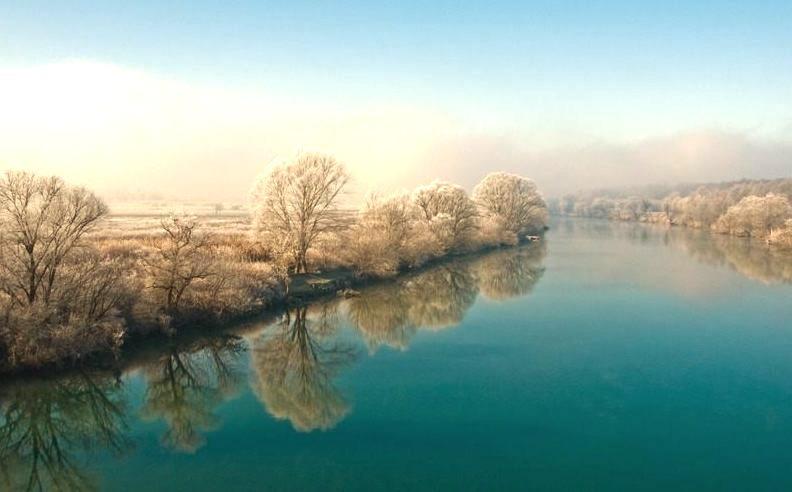 Kupa River, Croatia