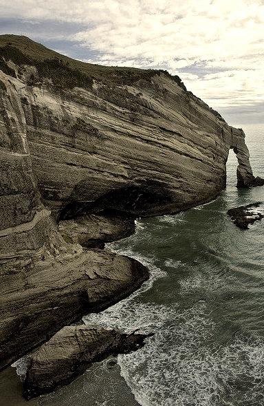 Cape Farewell at Wharariki Beach, New Zealand
