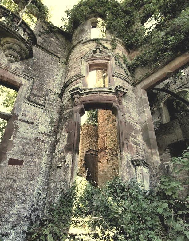 Milkbank House ruins near Lockerbie / Scotland